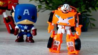 Tobot X. Робот - трансформер. Новая игрушка. Видео для мальчиков