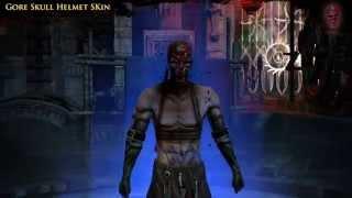 Path of Exile - Gore Skull Helmet Skin
