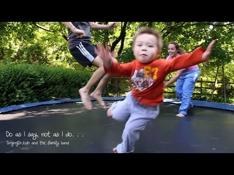 The Dangers of Trampolines - My True Confession: SingingDrJosh - The Singing Pediatrician