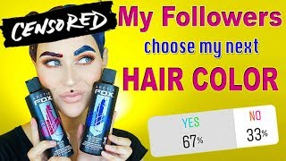 New Hair Color ☽  YOU CHOOSE | Evelina Forsell