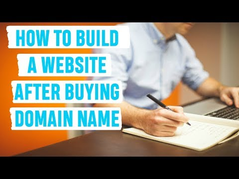 How To Build A Website After Buying Domain Name