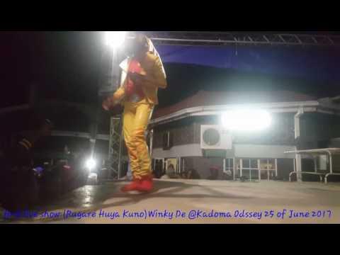 Wink de- Rugare Huya kuno-live on stage in Kadoma Oddsey 25 June 2017#Dezzieyman4lyf