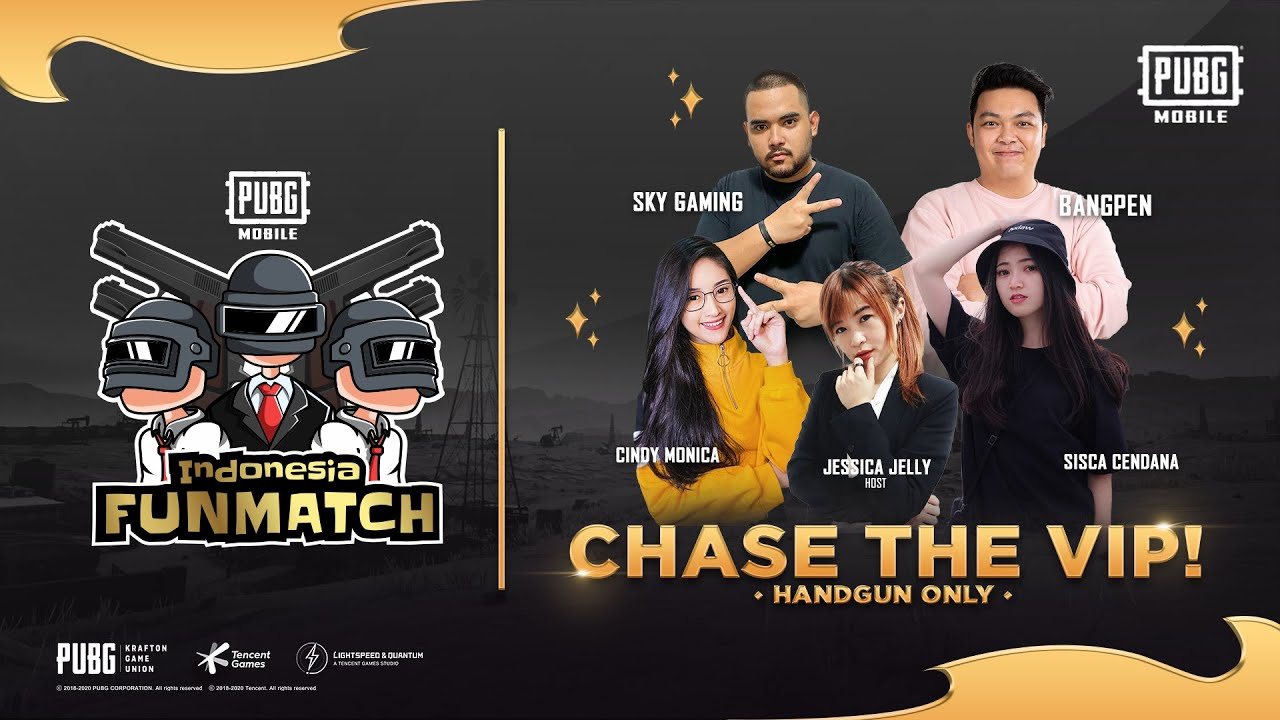 CHASE THE VIP WITH JESSICA JELLY  - PUBG MOBILE INDONESIA FUNMATCH 2020