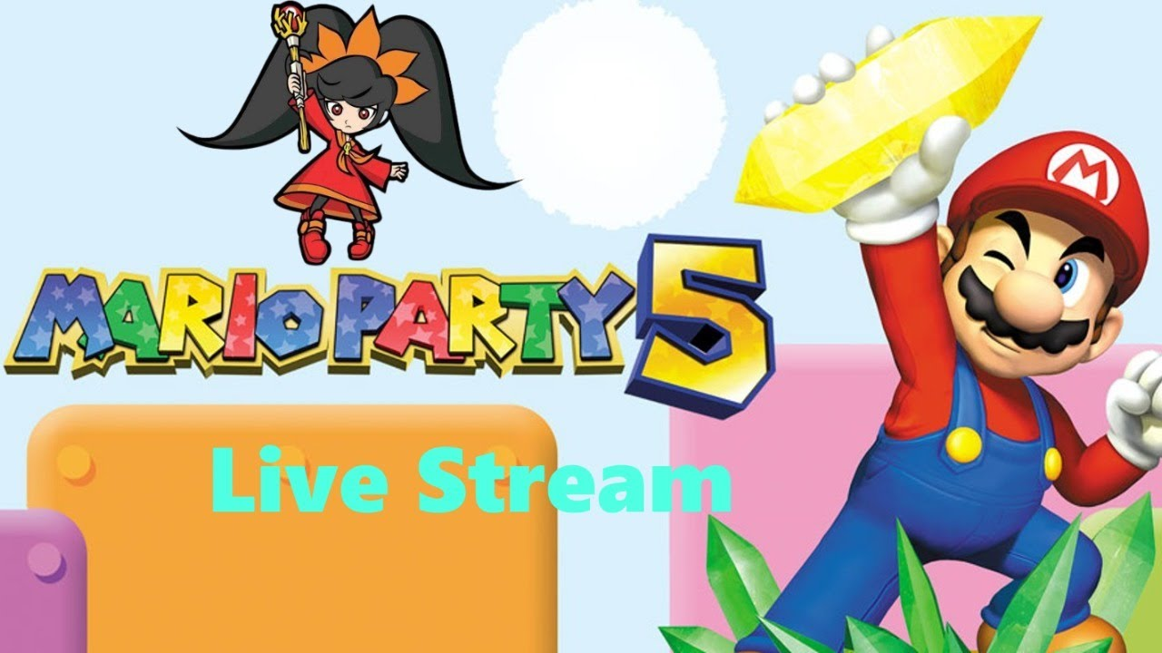 Mario Party 5 Story Mode Live Stream Full Game Normal Mode (Happy Mario Day)