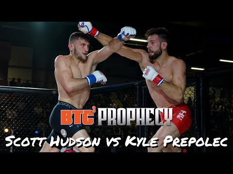 BTC 3: Prophecy | Ringside | Scott Hudson vs Kyle Prepolec - Super Lightweight Title (165 lbs)