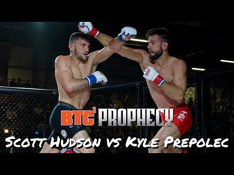 BTC 3: Prophecy | Ringside | Scott Hudson vs Kyle Prepolec - Super Lightweight Title (165 lbs)