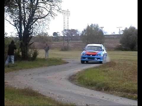 Martin Hudec - test Lancer EVO IX by RallyTV