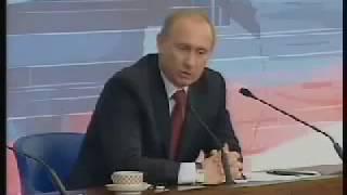 Путин цитирует Фоменко в прямом эфире