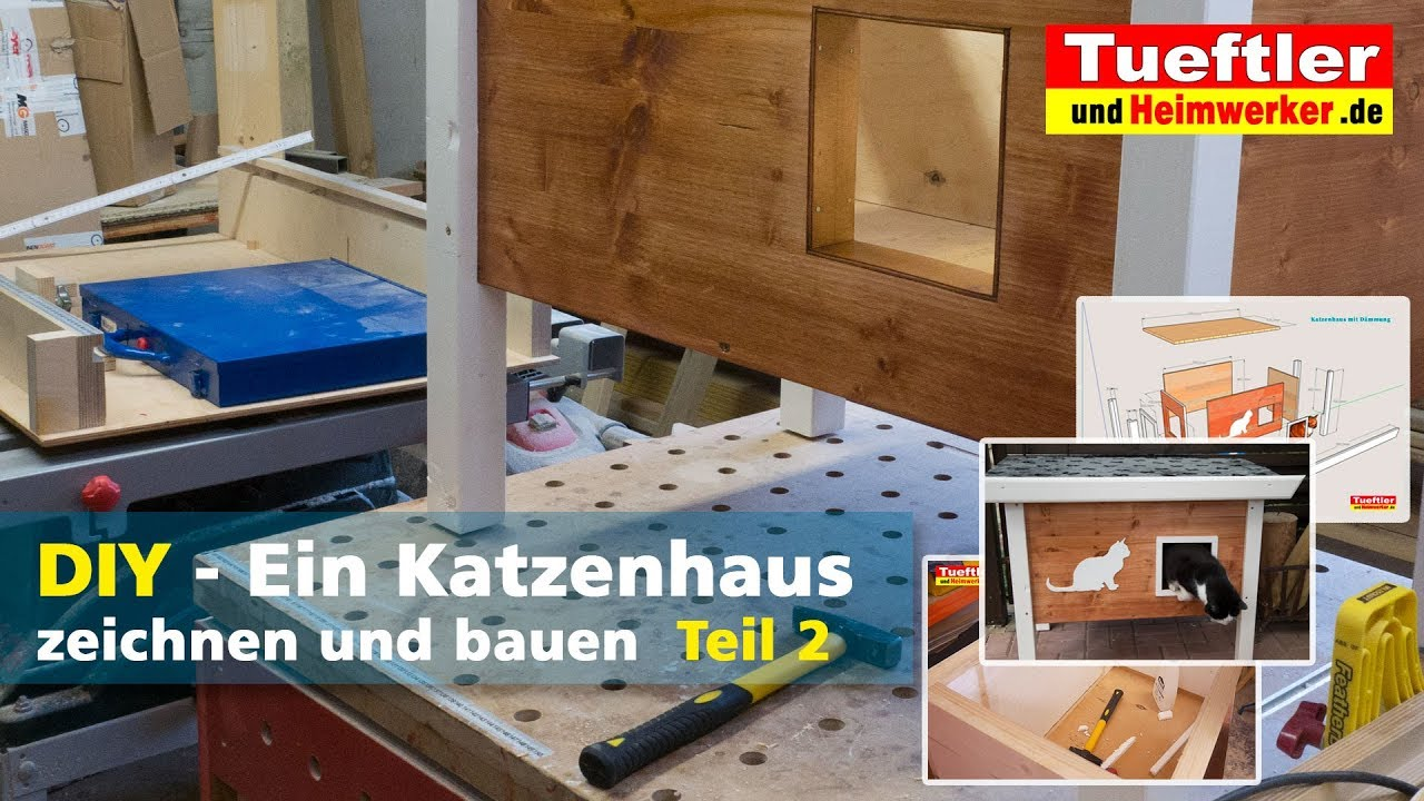 outdoor katzenhaus selbst bauen wohn design. Black Bedroom Furniture Sets. Home Design Ideas