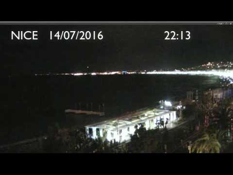 Nice-Niza truck attack. Promenade des Anglais Hour by Hour before and after the attack