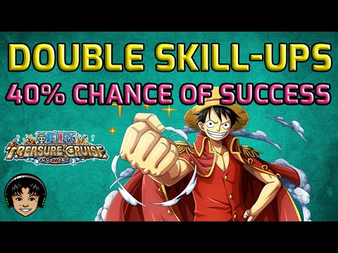 Double Skill-Ups! About 40% Chance of Success on JPN! [One Piece Treasure Cruise]