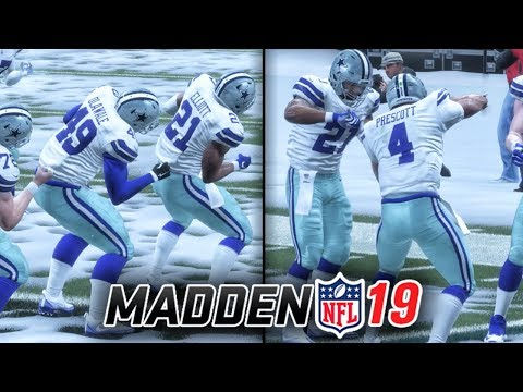 MADDEN 19 OFFICIAL GAMEPLAY! CHOOSING CELEBRATIONS (TEAM, SPIKE, SIGNATURE, DANCE, SWAGGER) Ep. 1