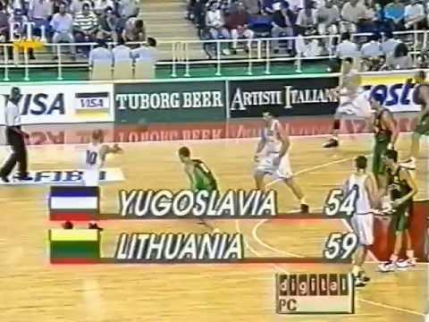 Yugoslavia.Lithuania.96.90.Final.02.07.1995.Eurobasket