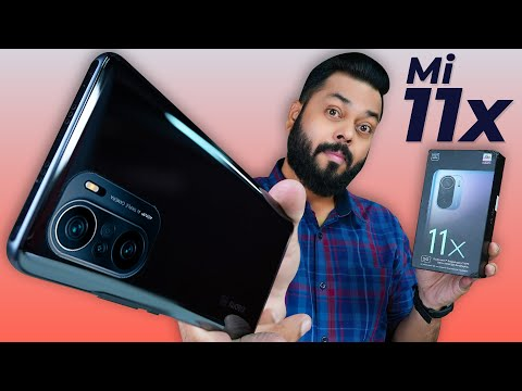 Mi 11X Indian Retail Unit Unboxing And First Impressions ⚡ Snapdragon 870,120Hz AMOLED - Under 30000