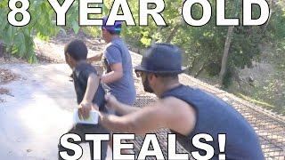 8 Year Old Kid Tries To Steal My Phone!! thumbnail
