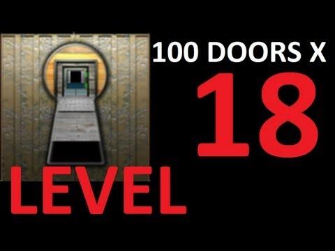 100 doors x level 18 door 18 walkthrough solution youtube for 100 doors door 4 solution
