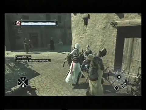 Assassin's Creed, Career 278, Jerusalem: Middle District, Save Citizen 5