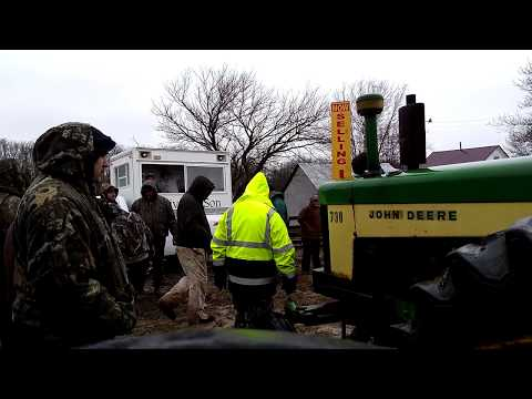 John Deere 730 tractor gas sales on auction