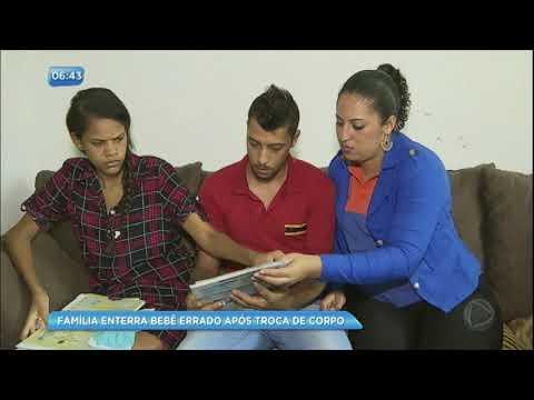 Família enterra bebê trocado após erro de hospital