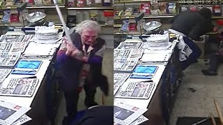 82-year-old shopkeeper fights off robber in UK