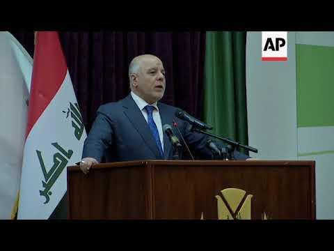 Iraq says country's war against IS group has ended