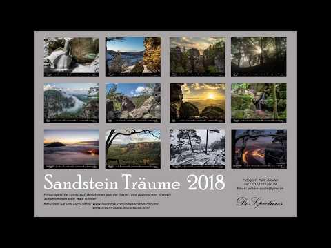 Werbevideo Kalender Sandstein Träume 2018