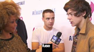 One Direction on Kiss You video & New Tattoos - Z100's Jingle Ball 2012