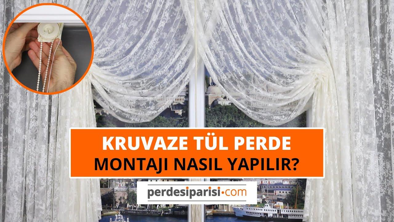 Kruvaze Perde Nasıl Takılır? PerdeSiparisi.com