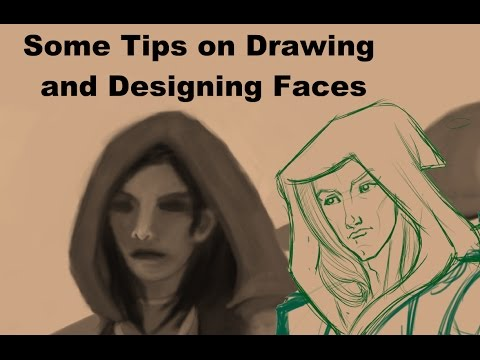 Some Tips on Drawing and Designing Faces