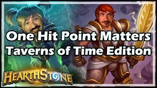 One Hit Point Matters - Taverns of Time Edition