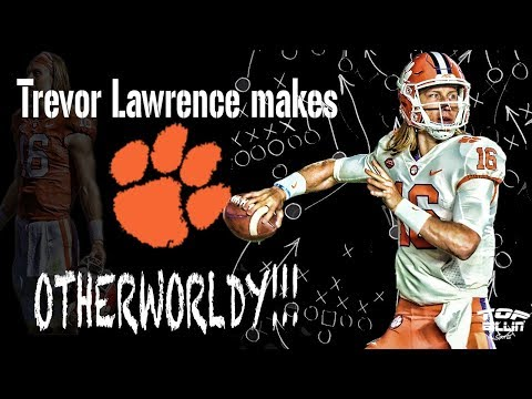X&O's: Trevor Lawrence makes CLEMSON OTHERWORLDLY!!!