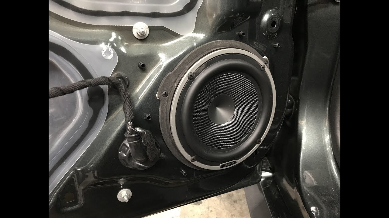 2015 Ford Mustang Speaker Adapters and Custom Stereo