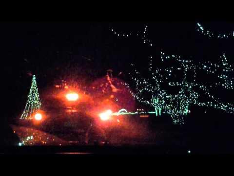 Botanical Gardens Norfolk, VA Christmas 2012