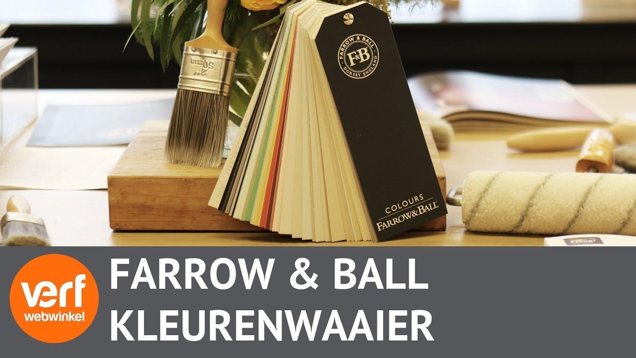 Farrow And Ball Kleurenwaaier.Farrow Ball Kleurenwaaier Met 132 Kleuren