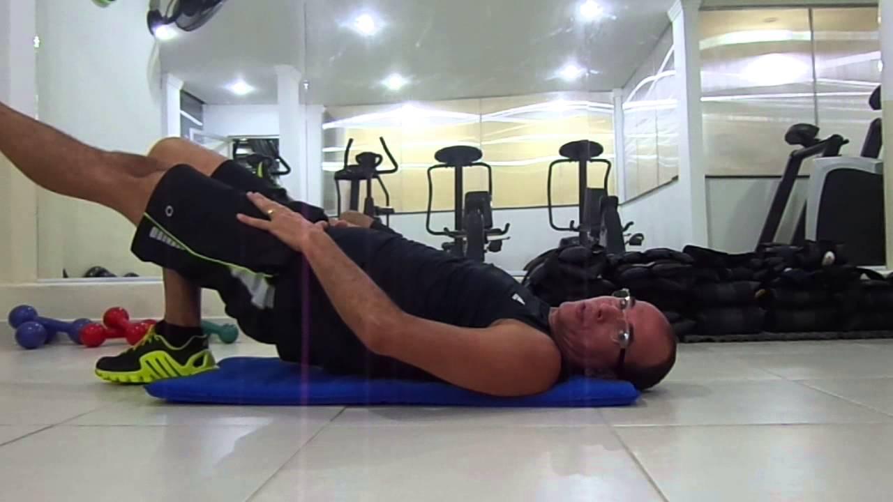 Exerc cios de fortalecimento abdomem perna posterior e for Exercicio para interno de coxa