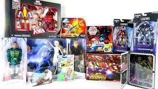 Новые игрушки: Bakugan, Frozen II, Predator, Beyblade, Iron Man, X-Man, Cars