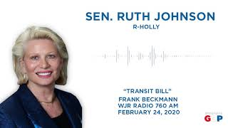 Sen. Johnson discusses her opposition to regional transit property tax on WJR