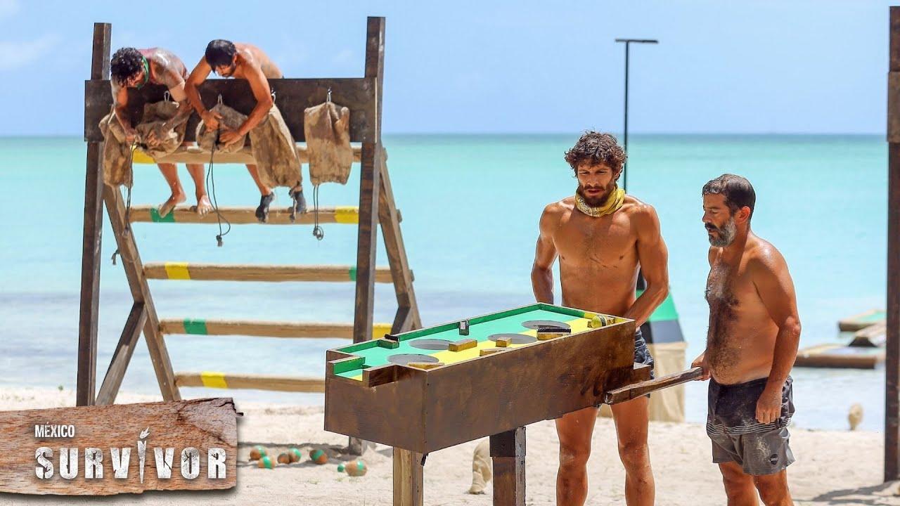 Duelo y coordinación por invaluable premio en las playas de Survivor.   Survivor México 2021