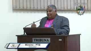 33ª Sessão Ordinária - Vereador Mineiro