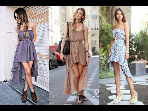 Como Usar Modelos De Vestidos Longos Atrás E Curtos Na Frente