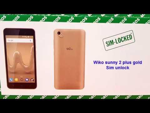 Wiko Sunny 2 gold plus sim unlock | Invalid sim soluation