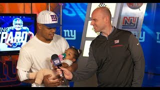 Giants Insider: Sterling Shepard discuss his new contract
