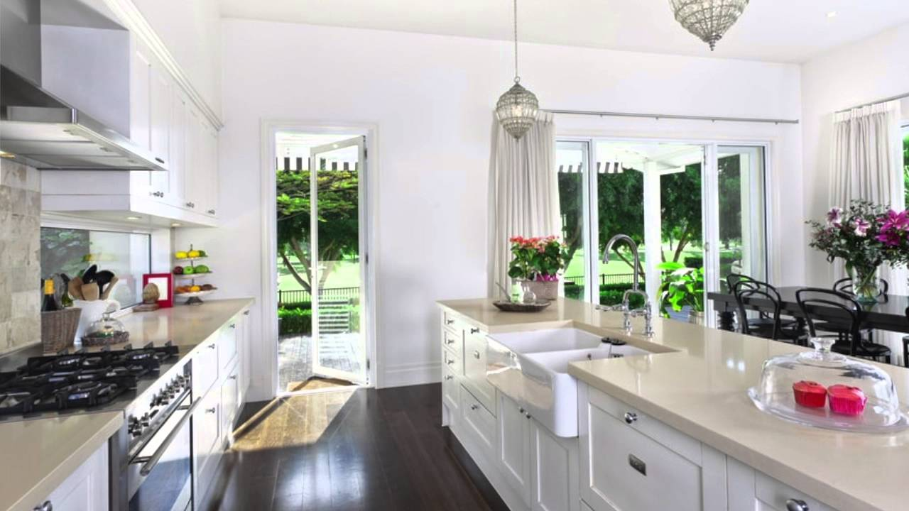 Beautiful White Kitchens beautiful white kitchens - youtube