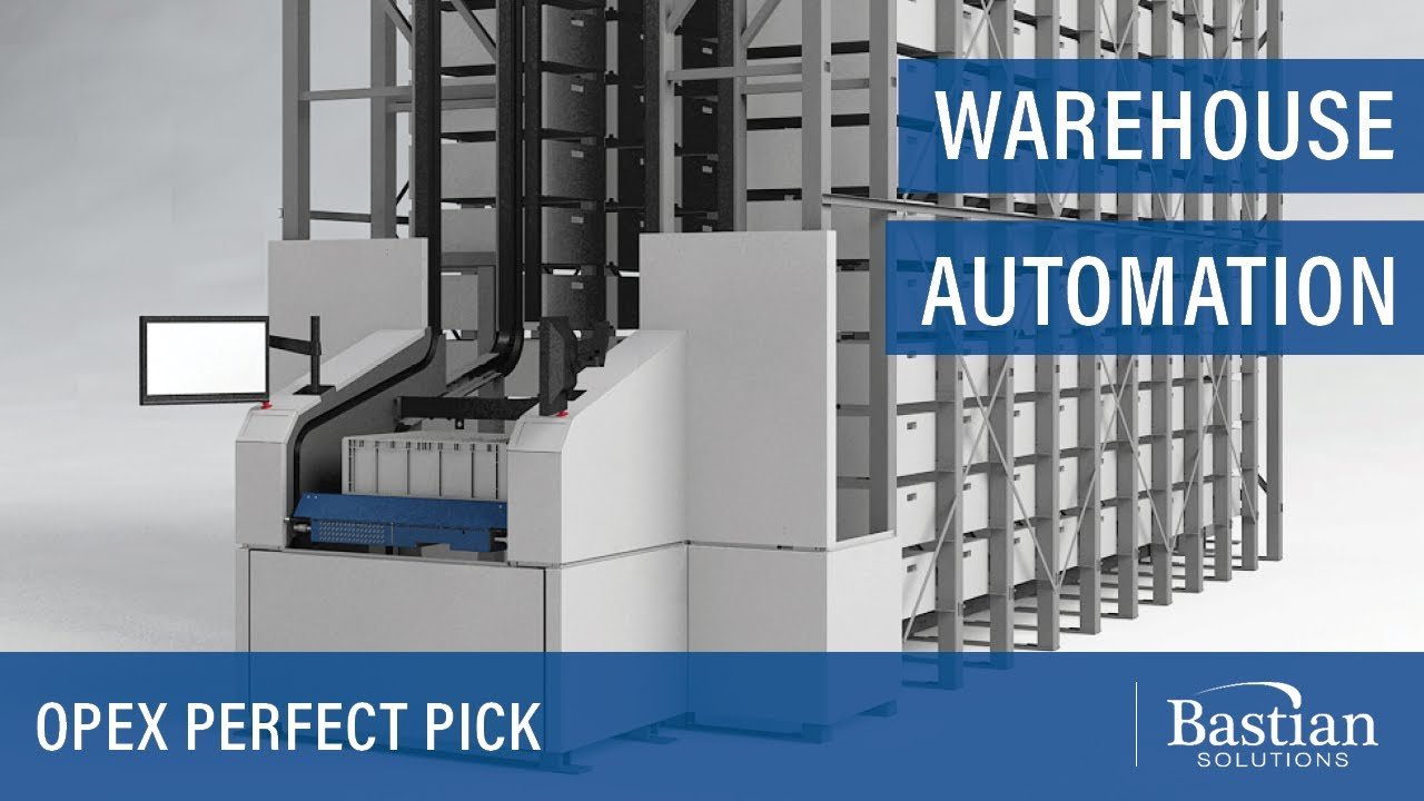 Warehouse Automation With Opex Perfect Pick Youtube