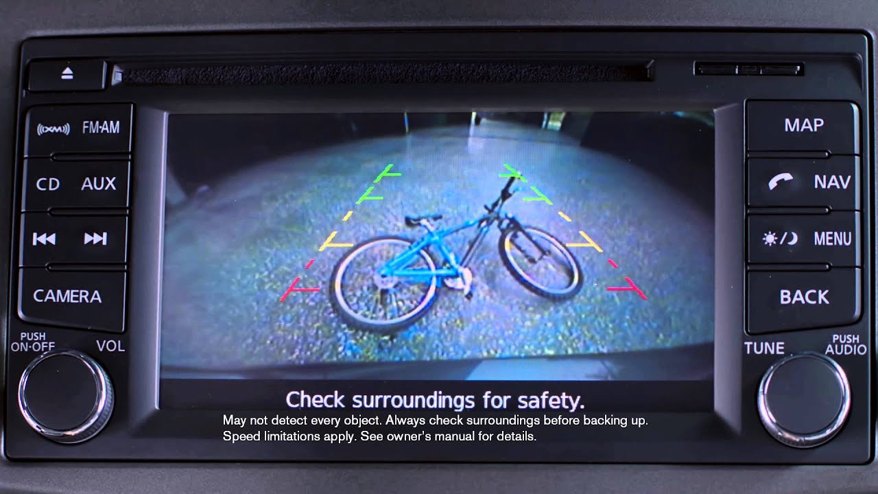 Nissan Sentra: Rear View Camera - YouTube