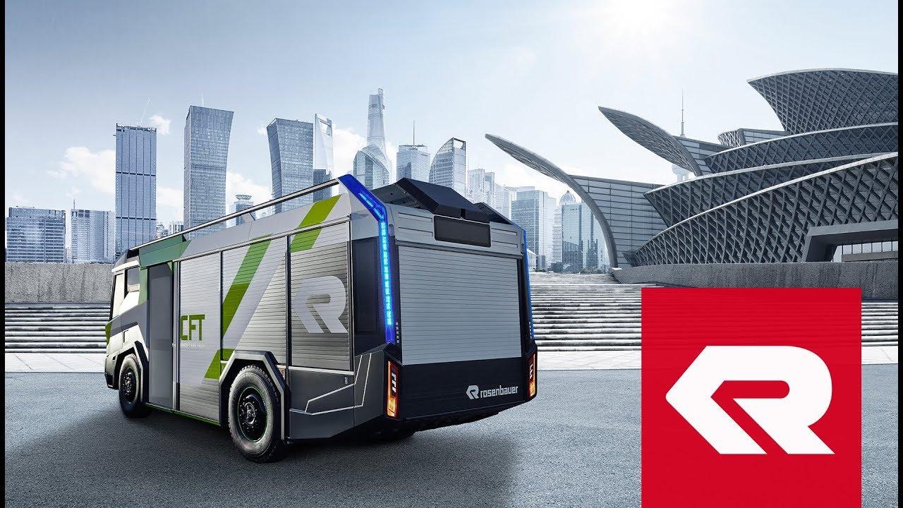 Concept Fire Truck (CFT) - Rosenbauer