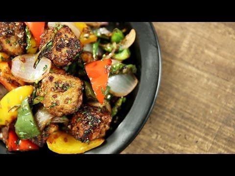 How To Make Paneer Chilli | Indo Chinese Recipe | The Bombay Chef - Varun Inamdar