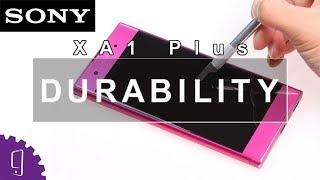 Sony Xperia XA1 Plus Durability Test   Screen Scratch Test