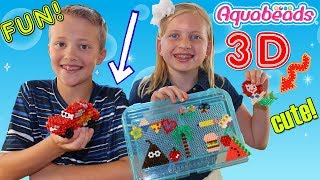 3D Aquabeads Family Playtime Fun!!