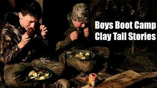 Boys Boot Camp-Rabbit with Blueberry Scones